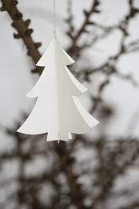 Bilde av Juletrepynt juletre i papir