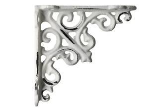 Bilde av Hylleknekt H: 10 cm antikk krem