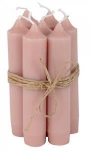 Bilde av Kronelys kort variant rosa malva pr. stk